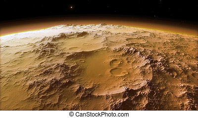 Image of beautiful Space with planets