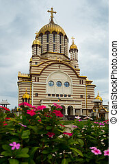 Image of cathedral of St. John the Baptist in Fagaras