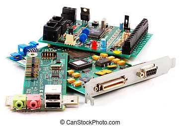 Image of computer hardware & components