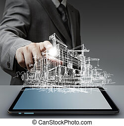 image of constructor - An image of constructor in a rad...