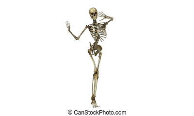 dancing skeleton - image of dancing skeleton