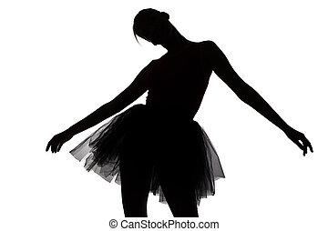 Image of dancing teenage girl
