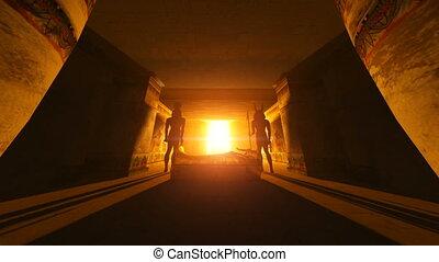 image of egyptian tombs
