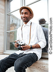 Image of fashion black man