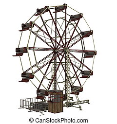 ferris wheel  - image of ferris wheel