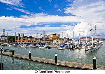 Georgetown, Penang, Malaysia - Image of Georgetown, Penang,...