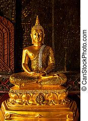 Image of Golden buddha statue