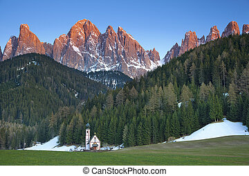 Italian Alps. - Image of gorgeous valley located in Italian ...