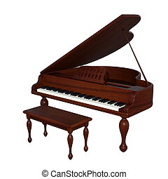 grand piano - image of grand piano.