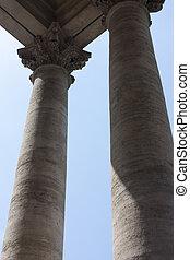 Image of greek columns
