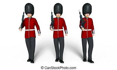 guards division men - Image of guards division men.