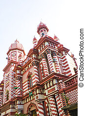Jami-Ul-Alfar Mosque, Colombo, Sri Lanka