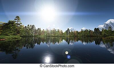lake - image of lake