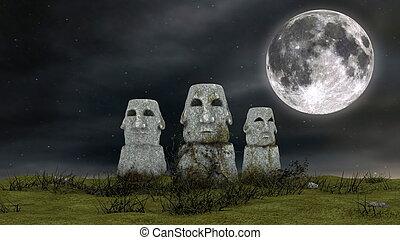 Moai  - image of Moai