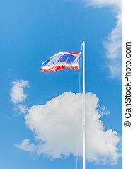 National flag of Thailand
