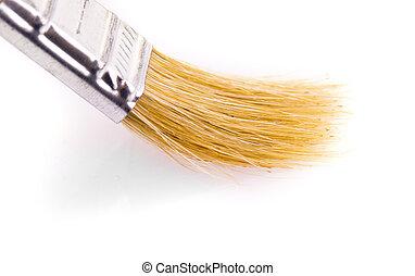 Image of paintbrush isolated on white background.