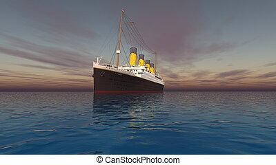 passenger ship  - image of passenger ship