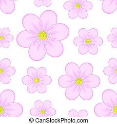 Image of pink flowers on a white background.