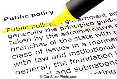Image of Public policy