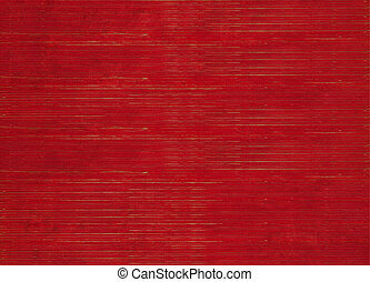 Red Stained Ribbed Natural Textured Background