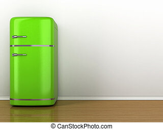 Image of Retro refrigerator