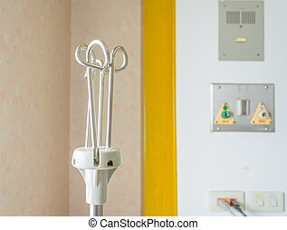 saline water hanging stand