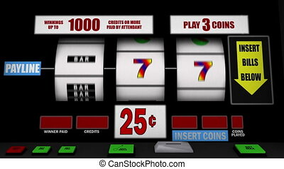 slot machine  - image of slot machine