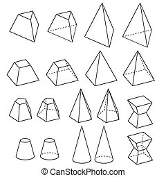 solid geometry vector - image of solid geometry vector...