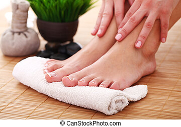 Image of SPA pedicure