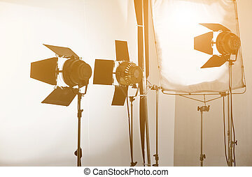 Studio lighting equipment - image of Studio lighting ...