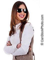 Image of stylish lady