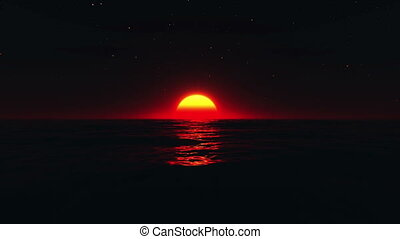 horizon - image of sunrise from horizon