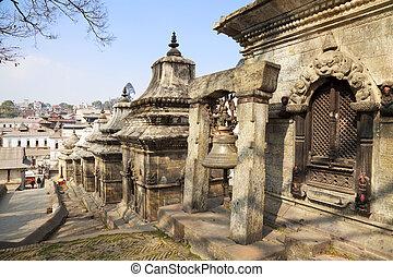 Pashupatinath Temple, Kathmandu, Nepal - Image of temple...