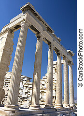 Temple of Athena Nike, Athens, Greece - Image of the ancient...