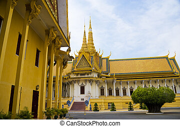 Cambodian Royal Palace - Image of the Cambodian Royal Palace...