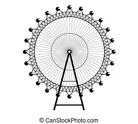 Big Wheel - Image of the ferris wheel - Big Wheel
