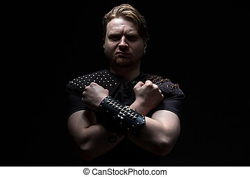 Image of the man with arms crossed