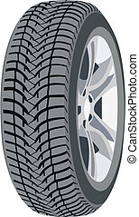 wheel - Image of the new car wheel