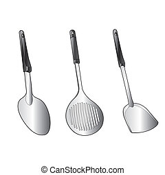 utensil vector - image of utensil vector isolated on...