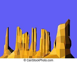 image, paysage, fond
