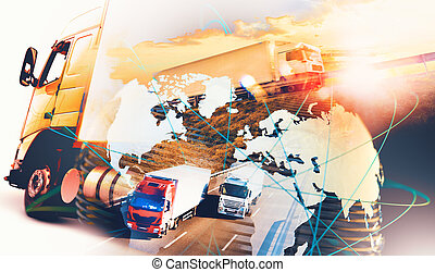 Image related to logistic and transport of goods