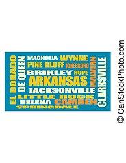 arkansas state cities list