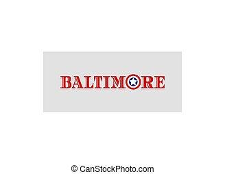 Baltimore city name