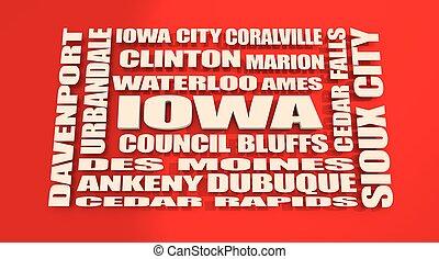 Iowa state cities list