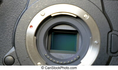 Image stabilization mechanism on the sensor of mirrorless...