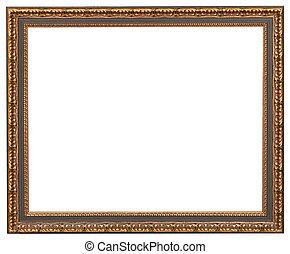 image, style, coupure, classique, cadre, toile, dehors