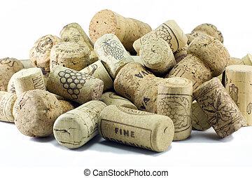 image), sugheri, vino, (crisp