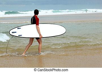 image, surfeur