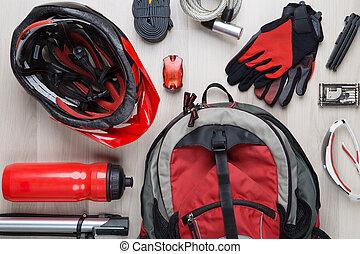 Image top of biker accessories