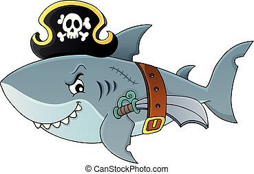 image, topic, requin, pirate, 4